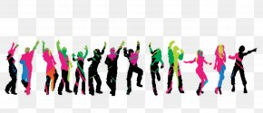 Silhouette - Silhouette Dance PNG