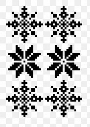 Pixel Art - Christmas Pixel Art Black And White PNG
