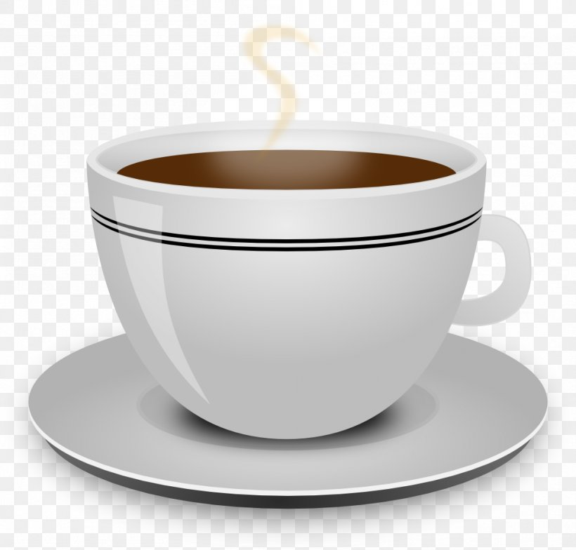 Coffee Cup Tea Clip Art, PNG, 999x956px, Coffee, Bowl ...