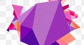 Colorful Geometry - Penrose Triangle Geometric Shape Geometry PNG