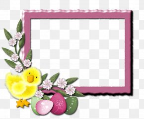 Pinceladas - Picture Frames Floral Design Photography Easter Text PNG