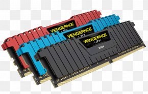 Corsair Components - CORSAIR 64GB (4 X 16GB) 288-Pin DDR4 SDRAM DDR4 2666 (PC4 21300) Desktop Memory Model CMU64GX4M4A2666C16B MINIX NEO U1 DIMM PNG