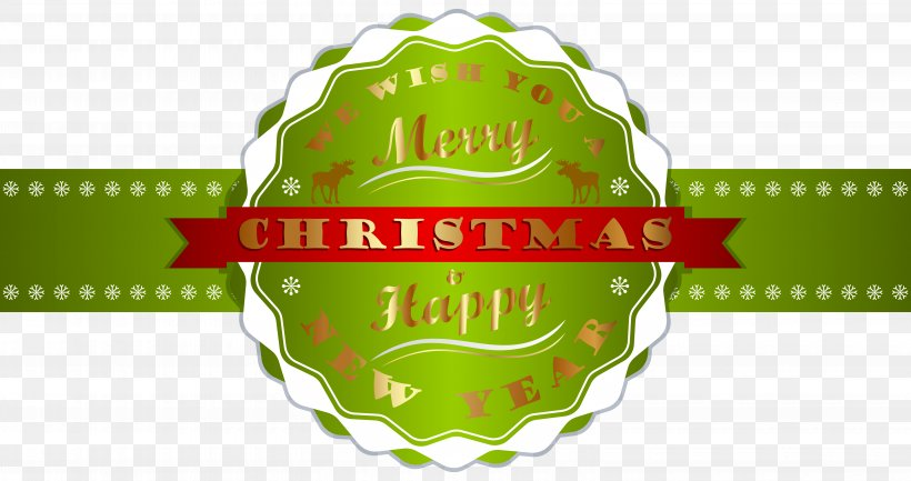 Christmas New Year's Day Clip Art, PNG, 6180x3264px, Christmas, Brand, Christmas Card, Christmas Decoration, Christmas Tree Download Free