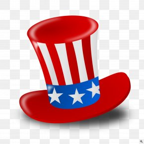 United States - Flag Of The United States Independence Day Clip Art Hat PNG