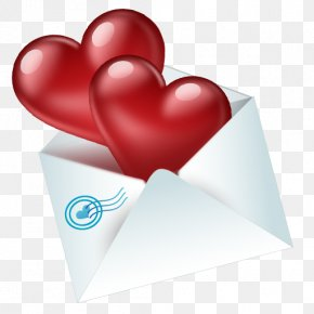 Envelope - Valentines Day Love Gift Icon PNG