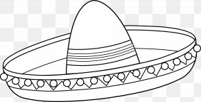Mexican Government Cliparts - Mexico Sombrero Coloring Book Cinco De Mayo Hat PNG