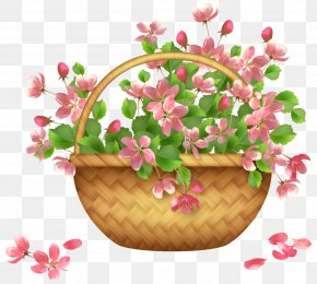 Callalily - Flower Hanging Basket Clip Art PNG
