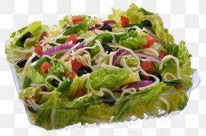 Salad - Pizza Caesar Salad Italian Dressing Antipasto PNG