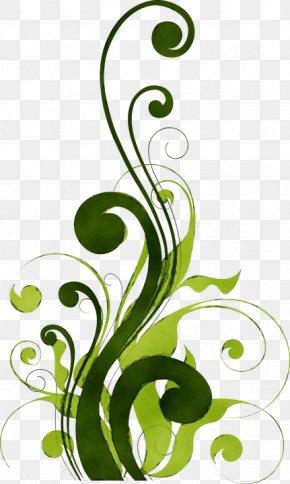 Plant Stem Flower - Clip Art Green Leaf Plant Graphic Design PNG