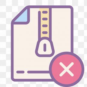 Delete Image Icon - Archive File Download PNG