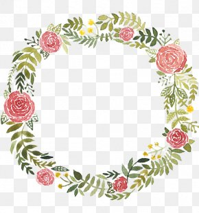 Painting - Watercolor Painting Wreath Royalty-free PNG