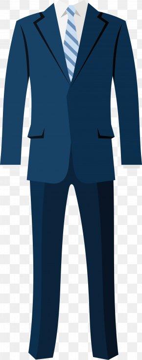 Vector Cartoon Suit - Tuxedo Suit Jacket Blazer Clothing PNG