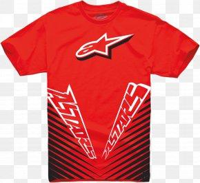 T-shirt - T-shirt Hoodie Alpinestars Top Clothing PNG