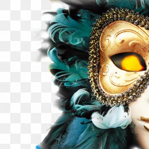 Witch - Carnival Of Venice The Venetian Las Vegas Mask PNG