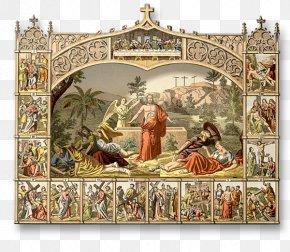 Christian Cross - Resurrection Of Jesus Stations Of The Cross Christian Cross Christianity PNG