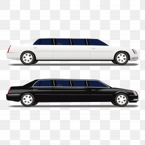 Stretch Limousine - Limousine Sports Car Luxury Vehicle PNG