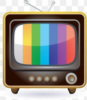 Retro TV - Television Stock Illustration Icon PNG
