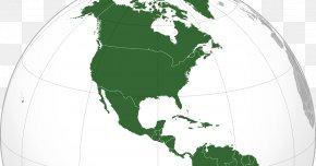 United States - South America United States Globe Latin America Central America PNG