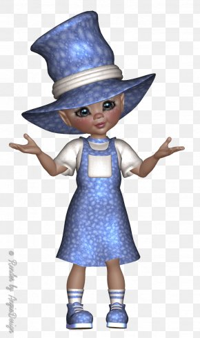 Old Witch - Poser Fairy Doll Legendary Creature Child PNG