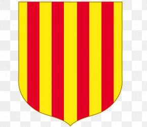 Flag - Flag Of Andorra National Flag Angle PNG