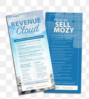 Creative Flyer Design - Advertising Design Brand Water Mozy PNG