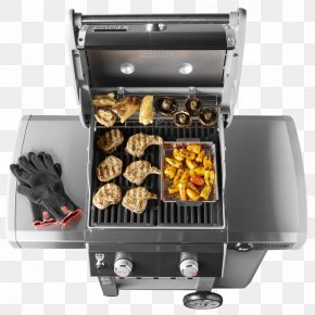 Balcony Grill - Barbecue Weber-Stephen Products Natural Gas Gasgrill Grilling PNG