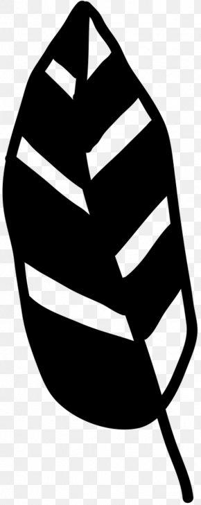 M Line Leaf Headgear - Clip Art Black & White PNG