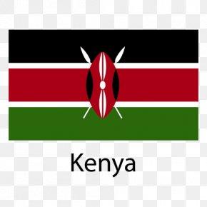 Flag - Flag Of Kenya National Flag PNG