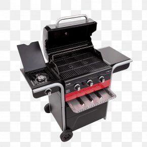 Gas Grill Smoker Combo - Barbecue Char-Broil Gas2Coal Hybrid Grill Grilling Cooking PNG