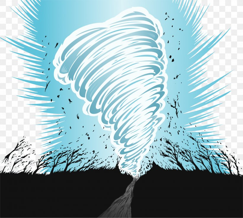 Tornado Storm Wind Euclidean Vector, PNG, 2047x1835px, Tornado, Cartoon, Fundal, Hurricane, Lightning Download Free