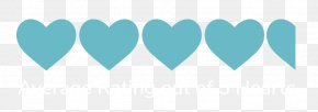Heart - Blue Right Border Of Heart Teal Turquoise PNG