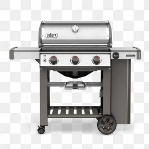 Propane Gas Stoves - Barbecue Weber Genesis II S-310 Weber-Stephen Products Natural Gas Propane PNG