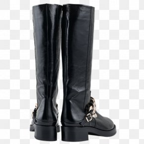 Leather Boots - Riding Boot Motorcycle Boot Shoe Equestrian PNG