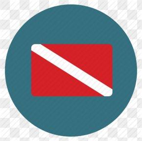 Scuba Flag, Scuba Icon - Scuba Diving Underwater Diving Diver Down Flag Diving Equipment PNG
