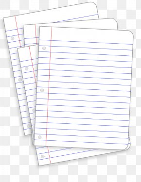 Paper Cliparts - Ruled Paper Notebook Clip Art PNG