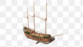 Airship - Barque Airship Brigantine Caravel PNG