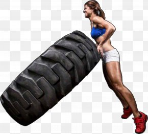 Cross Fit - Tire CrossFit Physical Fitness Aerobic Exercise PNG