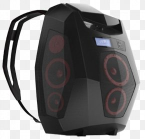 Backpack - Backpack Computer Speakers Loudspeaker Boombox Bag PNG