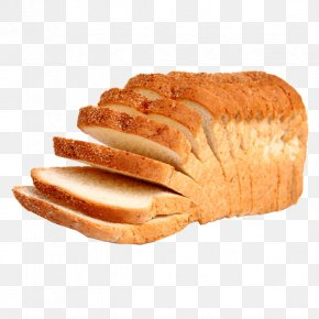 Bread - Sliced Bread Bakery Loaf Dough PNG