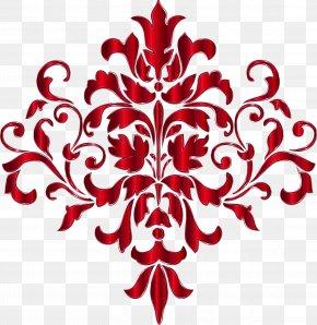 Motif Flower - Floral Flower Background PNG