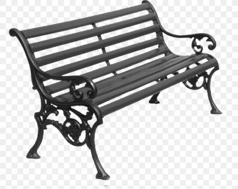 Garden Furniture Wrought Iron Bench Png 967x768px Furniture