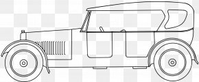 Auto Rickshaw - Car Drawing Coloring Book Clip Art PNG