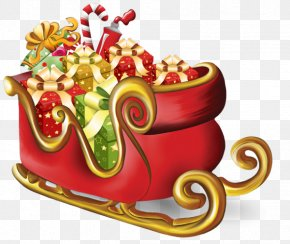 Santa Claus - Santa Claus Ded Moroz Sled Clip Art PNG