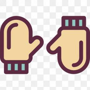 Gloves - Fashion Mitten Glove Icon PNG