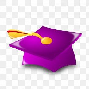 Graduation Pictures Images - Square Academic Cap Graduation Ceremony Purple Clip Art PNG
