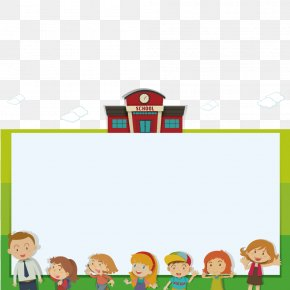Vector Children Prompted Board - Student Academic Certificate Diploma Illustration PNG