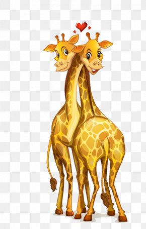 Giraffe - Giraffe Cartoon Stock Illustration Royalty-free PNG