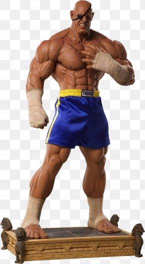 Street Fighter - Sagat Street Fighter Statue Figurine Mortal Kombat X PNG