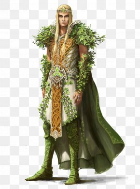 Elf - Druid Dungeons & Dragons Pathfinder Roleplaying Game D20 System Elf PNG