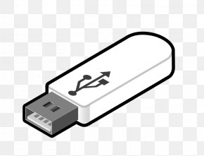 Cussing Cliparts - USB Flash Drive Computer Data Storage Flash Memory Clip Art PNG